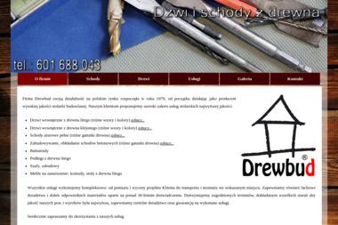 Drewbud - Usługi Stolarskie - Balustrady drewniane Występ