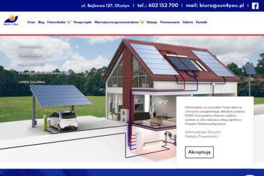 Sun4You - fotowoltaika - Instalacje Solarne Olsztyn