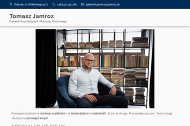 Gabinet Psychoterapii i Rozwoju Osobistego Tomasz Jamroz - Terapia uzależnień Gdynia
