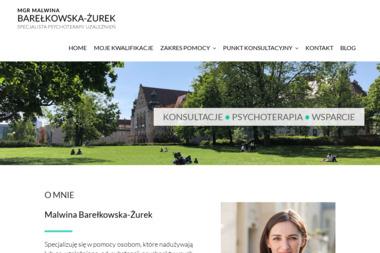 Specjalista Psychoterapii Uzależnień Malwina Barełkowska-Żurek - Leczenie Odwykowe Poznań