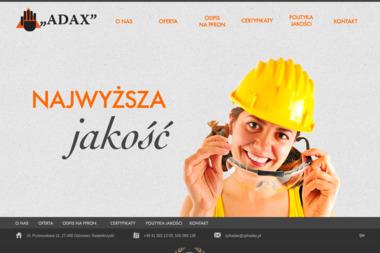 Zakład Produkcyjno-Handlowy ADAX Andrzej Pietrzykowski - Sprzedaż Odzieży Ostrowiec Świętokrzyski