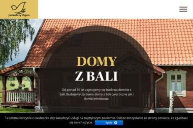 Jaskółczy Ogon - Domy z Bali Mrągowo