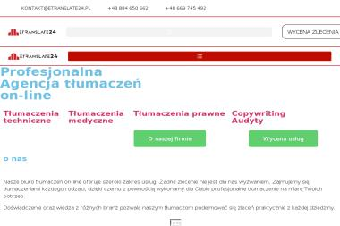 Agencja Tłumaczeń i Copywritngu e-Translate24 - Pisanie Tekstów Zielona Góra