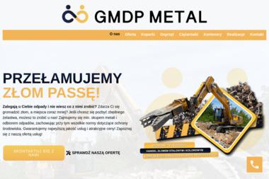GMDP METAL SP. Z O.O. - Utylizacja Gruzu Jelcz-Laskowice