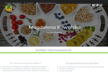 Dietetyk Magda Kowalska - Dietetyk Wieluń
