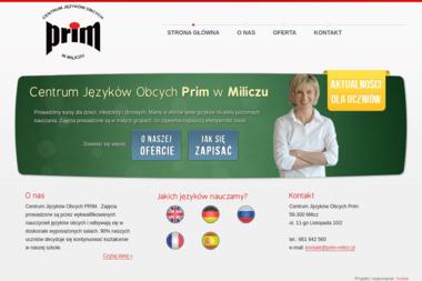 Centrum Języków Obcych Prim - Szkoła Językowa Milicz