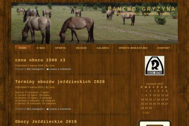 Rancho Gryżyna - Stadnina Koni Bytnica