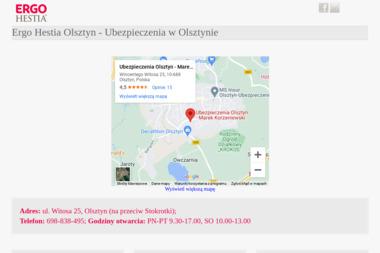 Ubezpieczenia Olsztyn Ewa Korzeniewska - Ubezpieczenie samochodu Olsztyn