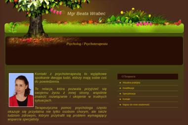 Psycholog mgr Beata Wrabec - Ośrodek Odwykowy Trzebnica