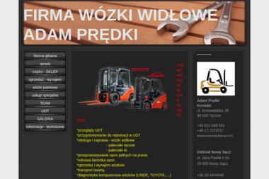 Wózki Widłowe Adam Prędki - Wózki widłowe Nowy Sącz