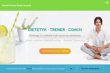 DIETETYK I TRENER RENATA ZOMERSKA - Dietetyk Wrocław