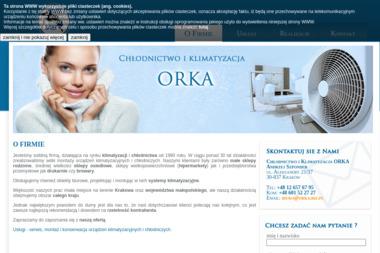 Chłodnictwo i Klimatyzacja ORKA - Urządzenia Chłodnicze Kraków