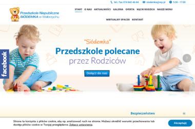 """Przedszkole Niepubliczne """"Siódemka"""" w Wałbrzychu - Przedszkole Wałbrzych"""