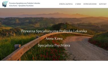 Psychiatra  Anna Kawa - Psycholog Piła