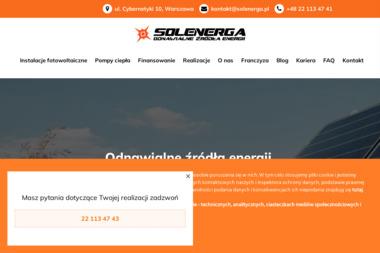 Solenerga Sp. z o. o. - Ogniwa Fotowoltaiczne Białe Błota