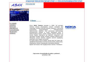 ABAX TELEKOM - Telefony Voip Chorzów