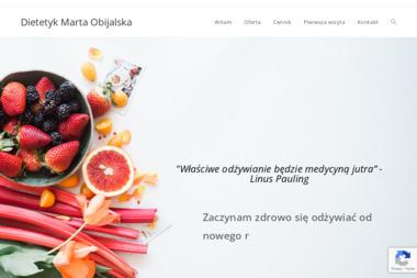 Dietetyk Marta Obijalska - Dieta Odchudzająca Jabłonowo Pomorskie