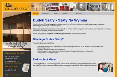Dudek Szafy Szafy na Wymiar - Szafy Na Wymiar Kraków