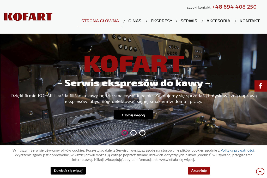 KOFART - Wynajem Ekspresu do Kawy Gdynia
