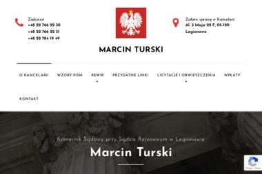 Komornik Sądowy Marcin Turski - Windykacja Legionowo