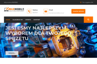 MAXMOBILE - Usługi Komputerowe Kielce