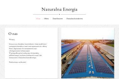 Naturalna Energia Michał Sidorow - Projektant Instalacji Elektrycznych Białystok