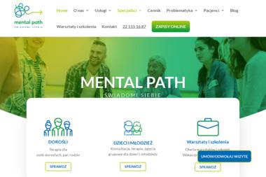 Centrum terapeutyczne Mental Path - Poradnia Psychologiczna Warszawa