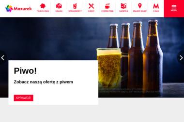 Mazurek - sieć sklepów w Olsztynie - Gotowy Sklep Internetowy Olsztyn