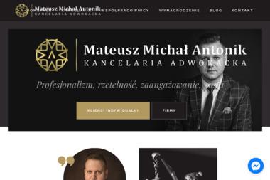 Kancelaria Adwokacka adwokat Mateusz Antonik - Kancelaria Adwokacka Zielona Góra