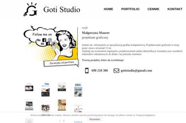 """Małgorzata Maurer """"Goti Studio"""" - Logo Dobroń"""