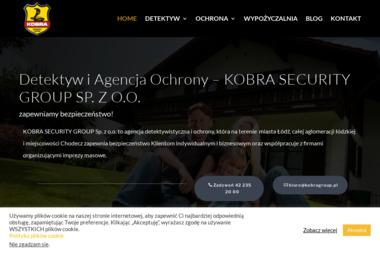 Kobra Security Group Sp. z o.o - Biuro Detektywistyczne Łódź