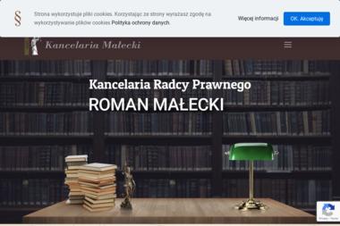 Kancelaria Radcy Prawnego Roman Małecki - Skup Długów Tczew