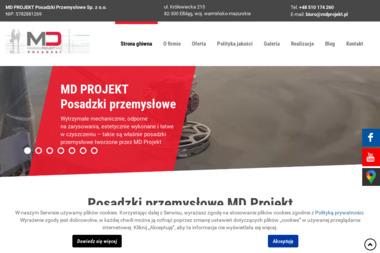 MD PROJEKT Posadzki Przemysłowe Sp. z o.o. - Posadzki Dekoracyjne Elbląg
