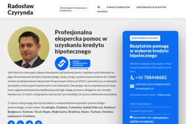 Radosław Czyrynda - Ekspert finansowy i kredytowy - Pośrednicy Kredytowi Grudziądz