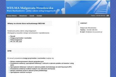 Biuro Rachunkowe WES-MA Małgorzata Wesołowska - Doradca Finansowy Szczecin