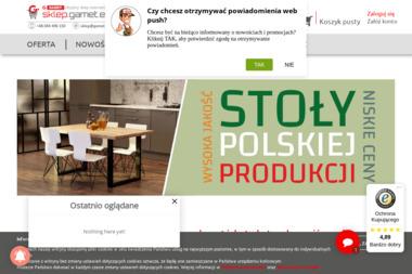 GAMET S.A. - akcesoria meblowe, sklep internetowy, hurtownia online - Okleina Dębowa Toruń