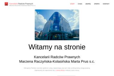 Kancelaria Radców Prawnych Marzena Raczyńska - Kolasińska Marta Prus s.c. - Porady Prawne Zielona Góra