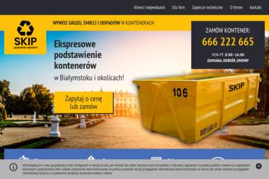 SKIP J.Mróz sp.j - Wywóz Papy Białystok