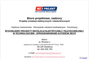 MZ-Projekt - Inspektor Nadzoru Budowlanego Świdnica
